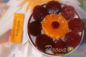 Салат из свеклы и мандаринов Шаг 8 (картинка)