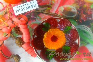 Салат из свеклы и мандаринов Шаг 9 (картинка)