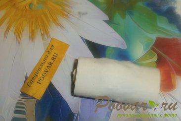 Рулетики из слоёного теста с сухофруктами Шаг 12 (картинка)