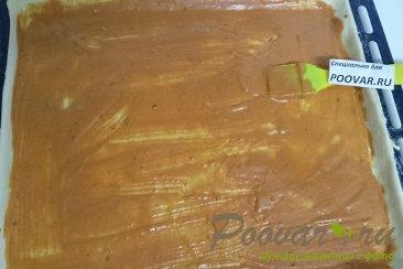 Пицца с руколой, грибами и сыром Шаг 8 (картинка)
