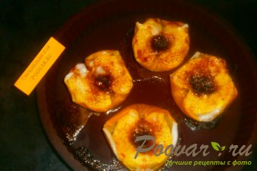 Яблоки запечённые в духовке с мёдом и корицей Шаг 7 (картинка)