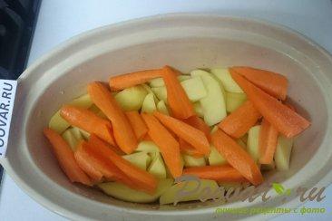 Кролик с овощами в духовке Шаг 9 (картинка)