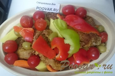 Кролик с овощами в духовке Шаг 10 (картинка)
