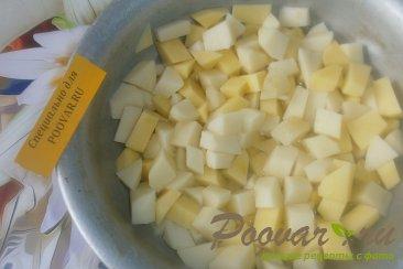Жаркое с картофелем и грибами в духовке Шаг 8 (картинка)