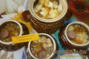 Жаркое с картофелем и грибами в духовке Шаг 15 (картинка)