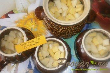 Жаркое с картофелем и грибами в духовке Шаг 13 (картинка)