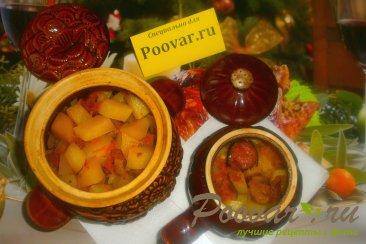 Жаркое с картофелем и грибами в духовке Шаг 19 (картинка)