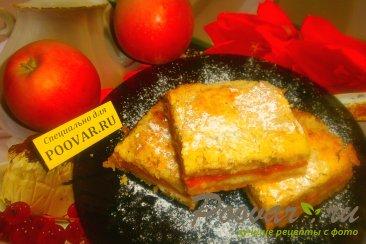 Насыпной пирог с яблоками и тыквой Изображение