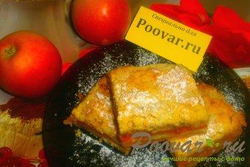Насыпной пирог с яблоками и тыквой Шаг 20 (картинка)