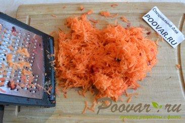 Салат из свеклы и моркови с чесноком Шаг 6 (картинка)