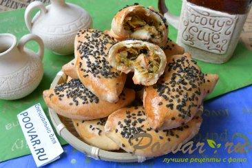 Пирожки с мясом, картофелем и шпинатом Шаг 16 (картинка)