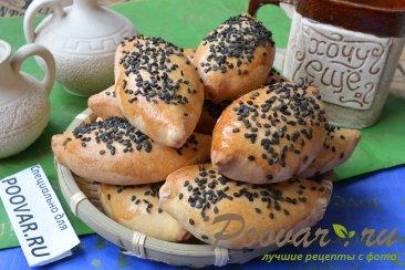 Пирожки с мясом, картофелем и шпинатом Шаг 15 (картинка)