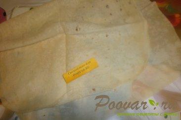 Мясной пирог из лаваша Шаг 8 (картинка)