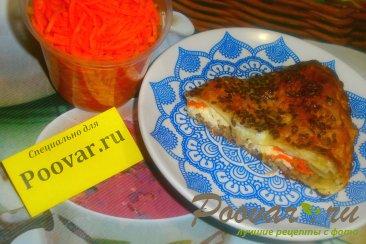 Мясной пирог из лаваша Изображение