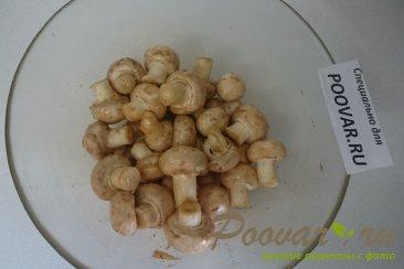 Картофель с курицей и грибами запеченный в духовке Шаг 8 (картинка)