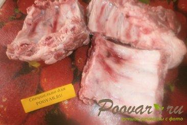 Свиные рёбрышки с апельсином в духовке в рукаве Шаг 2 (картинка)