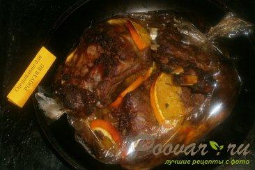 Свиные рёбрышки с апельсином в духовке в рукаве Шаг 11 (картинка)