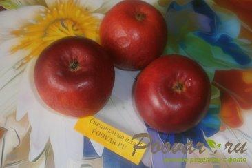 Яблоки с творогом запечённые в духовке Шаг 1 (картинка)