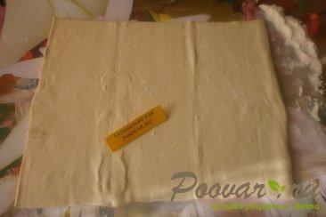 Сырный пирог с луком из слоёного теста Шаг 1 (картинка)
