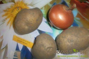 Лаваш с картофелем и луком Шаг 1 (картинка)