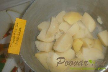 Лаваш с картофелем и луком Шаг 6 (картинка)