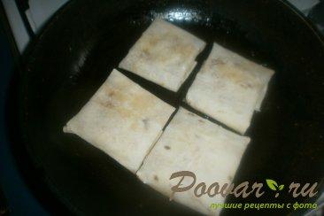 Лаваш с картофелем и луком Шаг 13 (картинка)