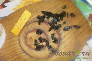 Рогалик с творогом и сухофруктами из дрожжевого теста Шаг 7 (картинка)