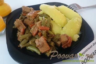 Свинина с картофелем и стручковой фасолью Шаг 11 (картинка)