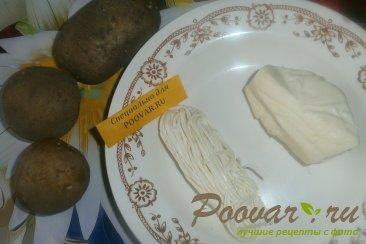 Вафли с картофелем и сыром Шаг 1 (картинка)