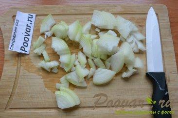 Тушеная картошка с сосисками в мультиварке Шаг 2 (картинка)