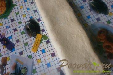 Булочки с пудингом из дрожжевого теста Шаг 14 (картинка)