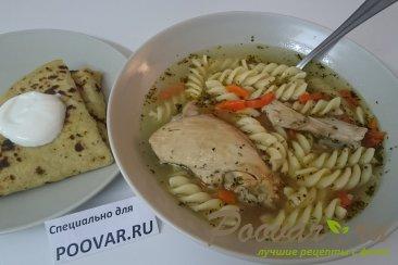 Куриный суп с макаронами Шаг 10 (картинка)