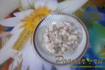 Салат из сыра и огурцов Шаг 4 (картинка)