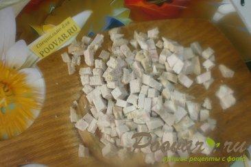 Салат из сыра и огурцов Шаг 2 (картинка)