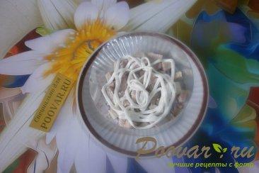 Салат из сыра и огурцов Шаг 5 (картинка)