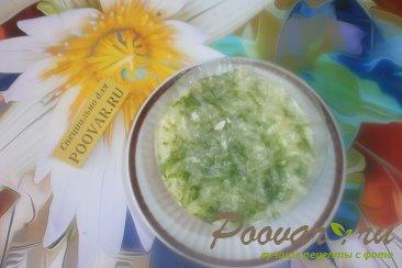 Салат из сыра и огурцов Шаг 9 (картинка)