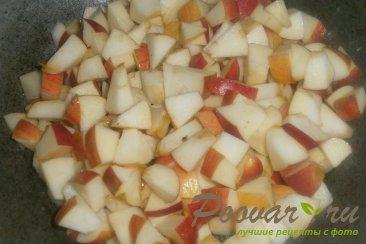 Лаваш с творогом и яблоками Шаг 5 (картинка)