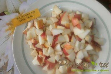 Лаваш с творогом и яблоками Шаг 4 (картинка)