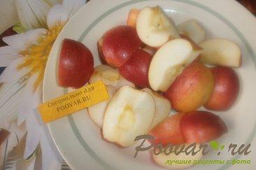 Лаваш с творогом и яблоками Шаг 3 (картинка)