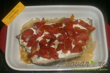 Зубатка с луком и вялеными помидорами Шаг 11 (картинка)