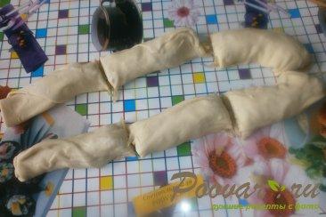 Узбекские слоистые лепёшки с луком Шаг 12 (картинка)