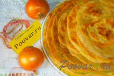 Узбекские слоистые лепёшки с луком Шаг 18 (картинка)
