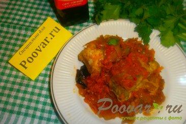 Хек в томатном соусе с луком и морковью Шаг 18 (картинка)