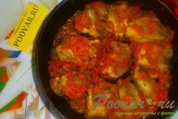 Хек в томатном соусе с луком и морковью Шаг 17 (картинка)
