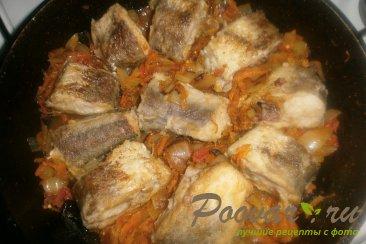 Хек в томатном соусе с луком и морковью Шаг 16 (картинка)