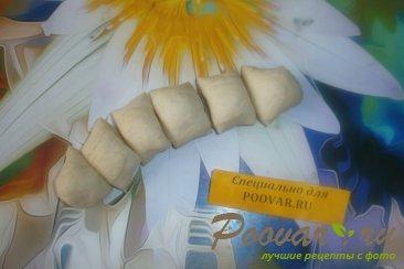 Булочки с арахисом из дрожжевого теста Шаг 6 (картинка)