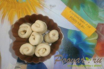 Булочки с арахисом из дрожжевого теста Шаг 10 (картинка)