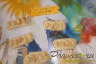 Булочки с арахисом из дрожжевого теста Шаг 8 (картинка)