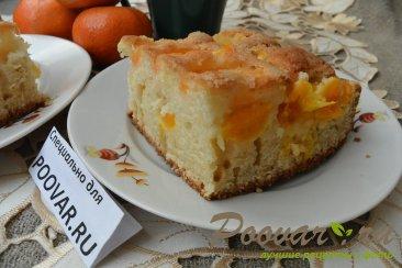 Быстрый пирог к чаю с мандаринами Шаг 16 (картинка)