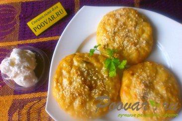 Сырники с картофелем в духовке Шаг 13 (картинка)